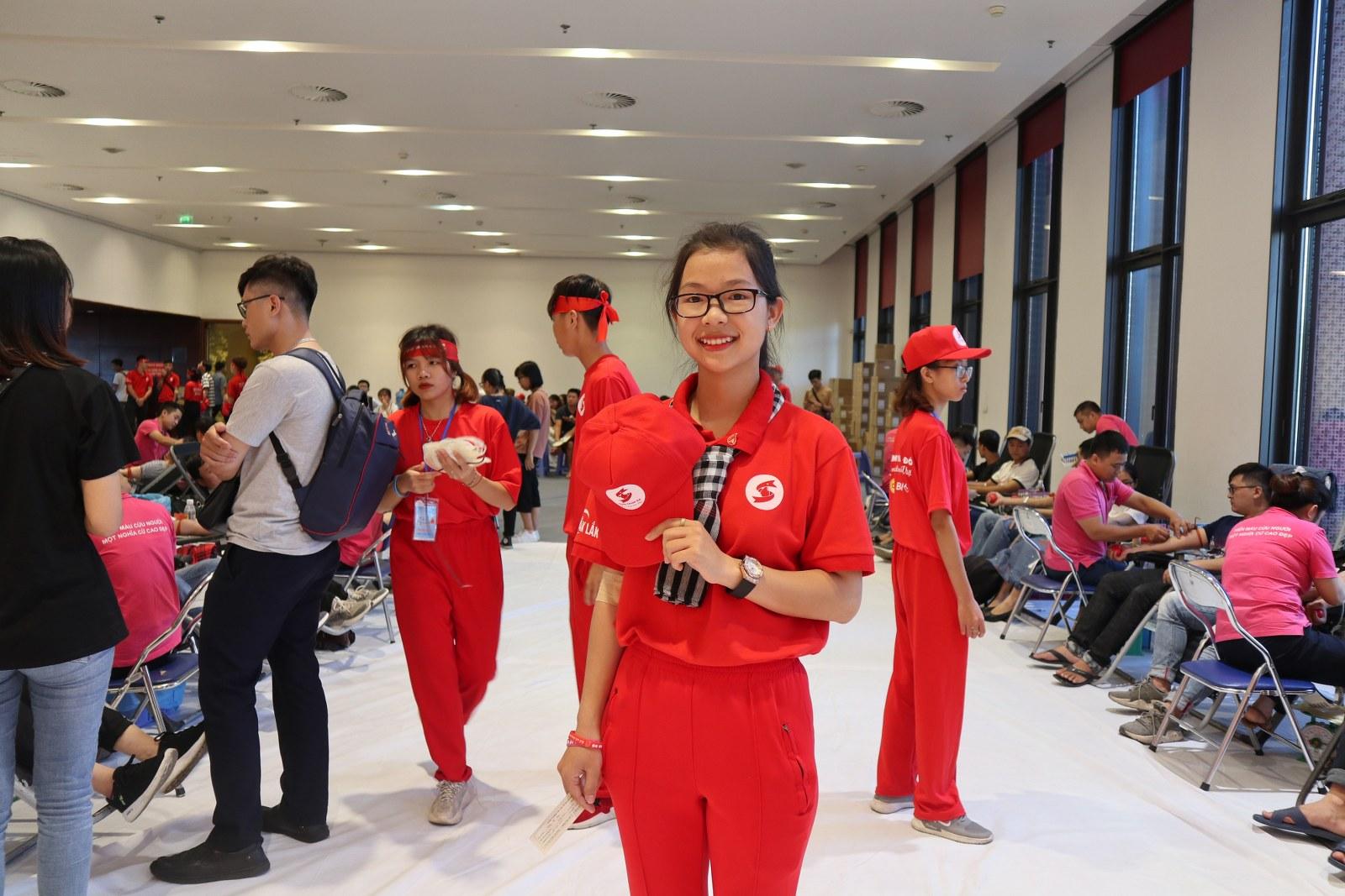 Nguyễn Thị Điệp (SN 1998) là 1 trong 5 người là tình nguyện viên tiêu biểu của