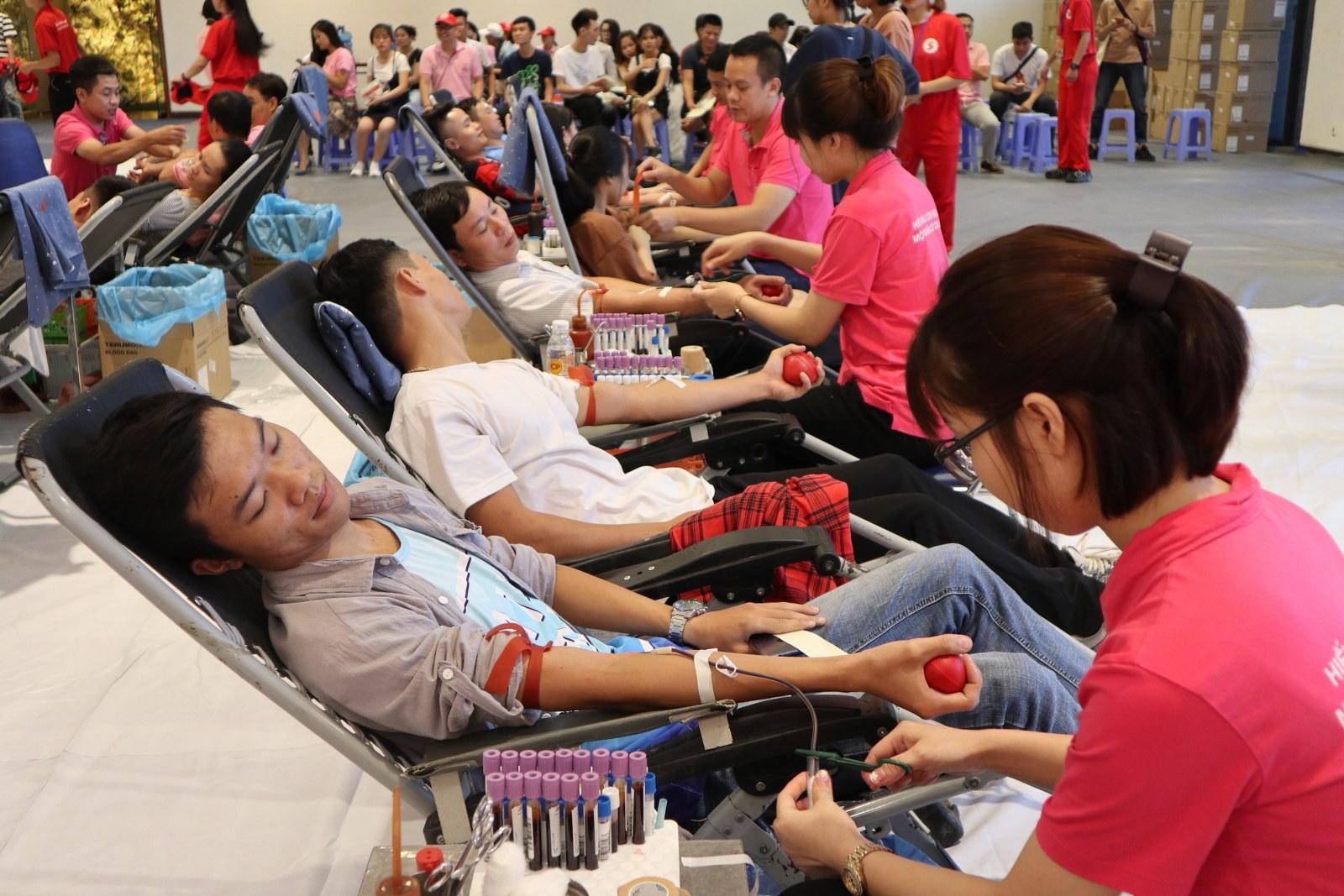 Ước tính đến khi kết thúc toàn bộ chương trình, sẽ có hơn 85.000 đơn vị máu được tiếp nhận. Lượng máu tiếp nhận trong chương trình Hành trình Đỏ đã được điều phối chung trên cả nước, khắc phục được tình trạng khan hiếm máu ở nhiều địa phương.