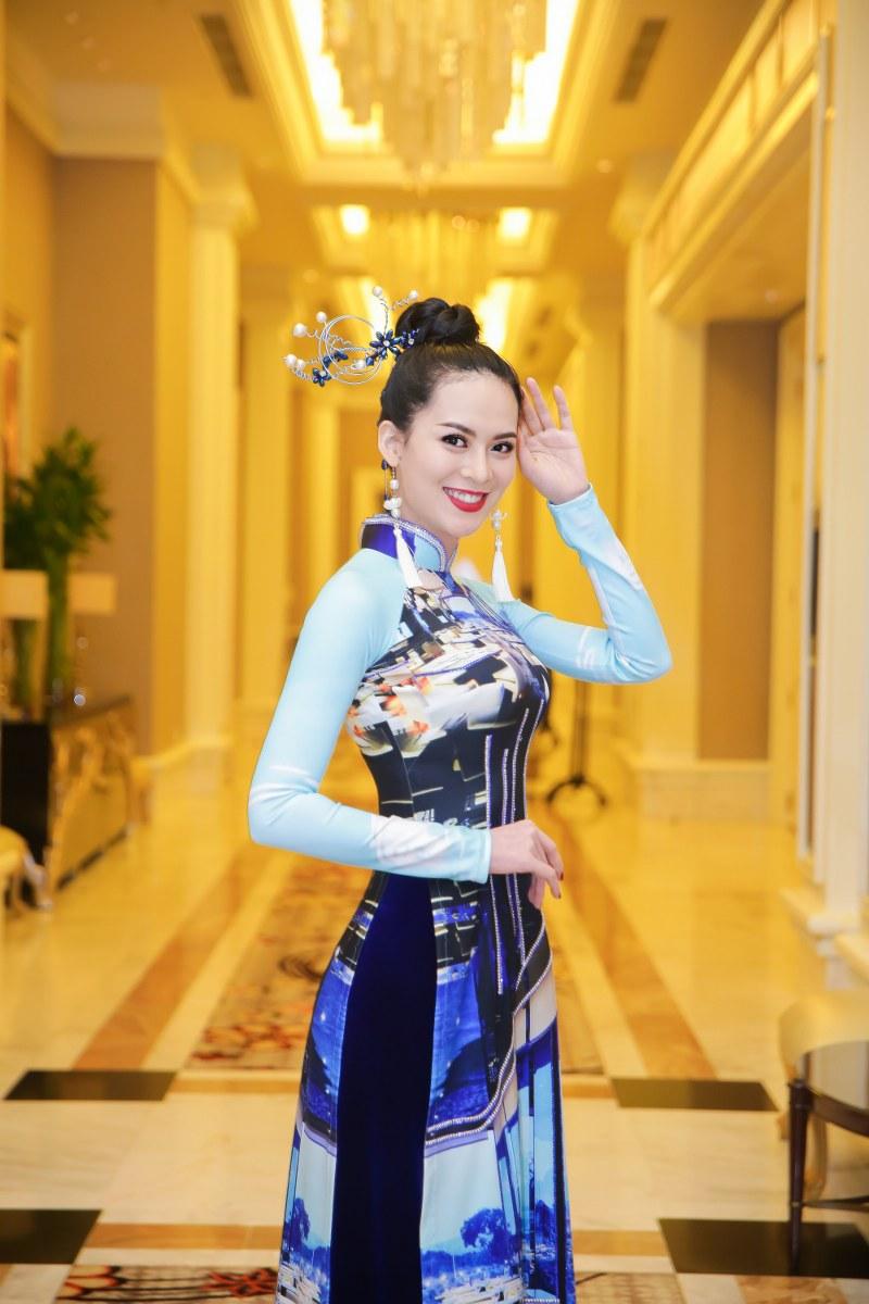 Hoa hậu được yêu thích - Hoa hậu Hoàn vũ Sang Lê bất ngờ trở lại sàn diễn sau khi sinh con