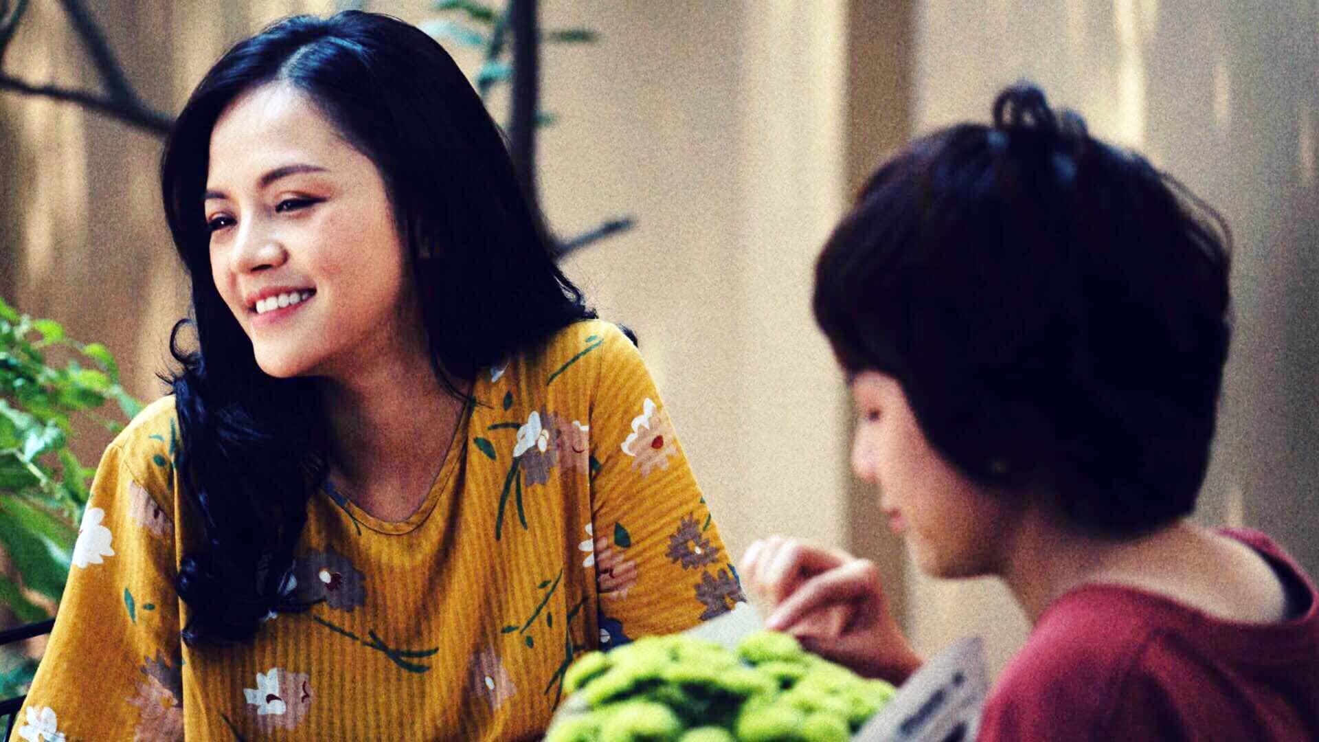 Diễn viên Thu Quỳnh (vai Huệ) lại lấy 1 câu trong đoạn kết phim để thay lời muốn nói: