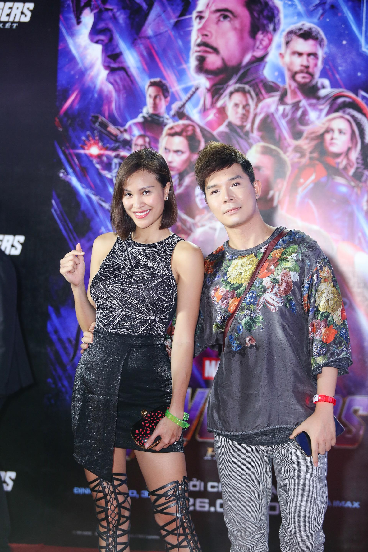 MC Phương Mai và ca sĩ Nathan Lee