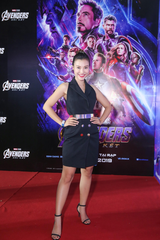 Tối qua (24/4), Á hậu PNVN Qua ảnh - Miss Photo 2012 Hoàng Oanh đã tham dự buổi công chiếu bộ phim bom tấn được trông đợi nhất hè 2019