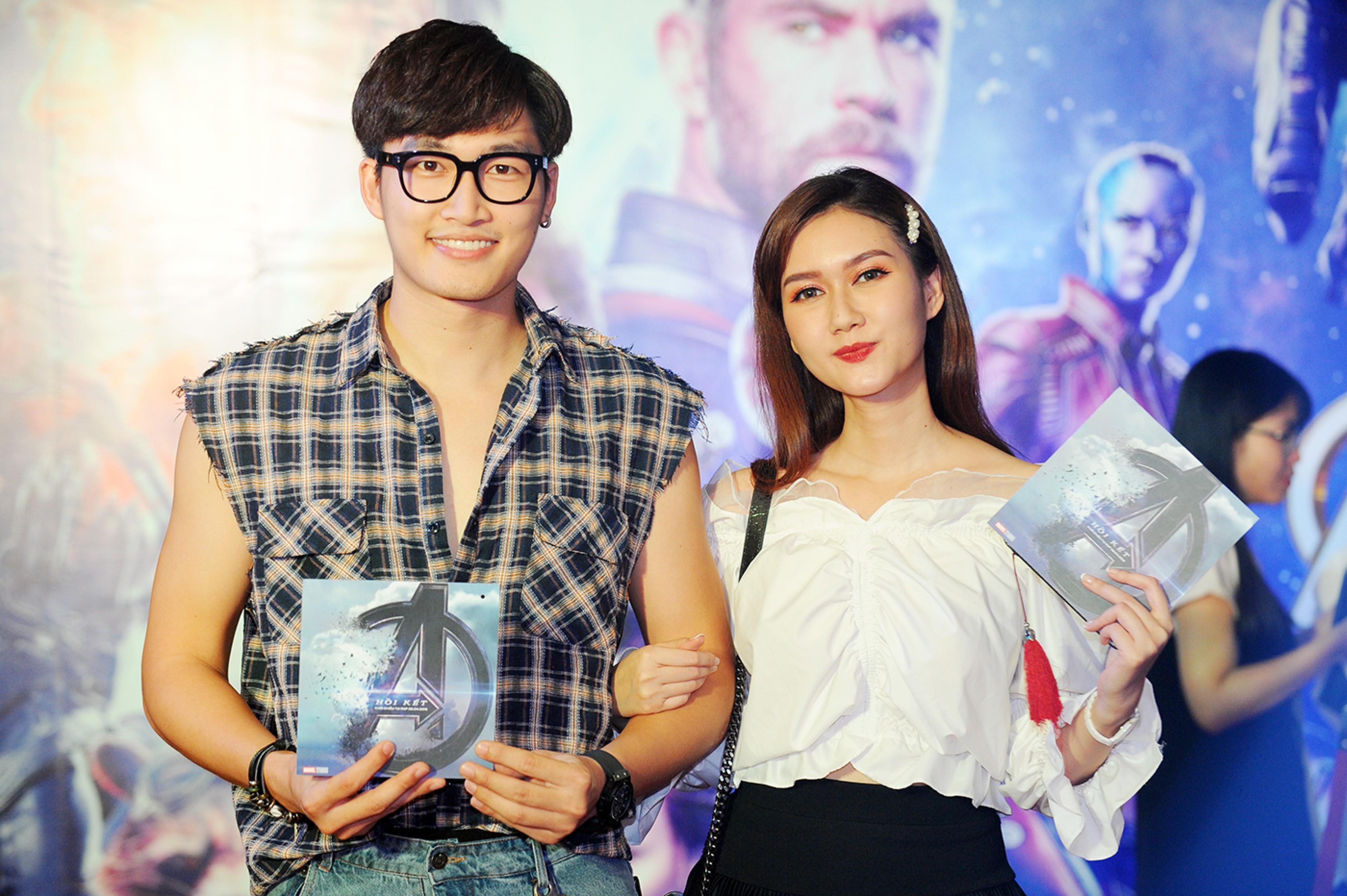 Cặp đôi diễn viên Hương Giang - Đình Tú