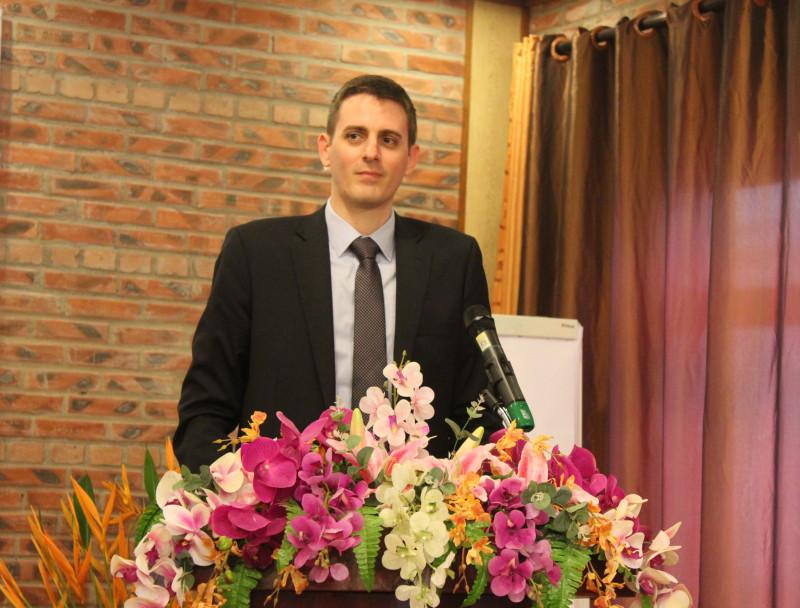 Phó Trưởng đại diện Quỹ châu Á tại Việt Nam Filip Graovac chúc mừng Hội đã thành lập được Mạng lưới. Ông bày tỏ mong muốn ngày càng nhiều phụ nữ Việt Nam phá vỡ mọi rào cản, định kiến xã hội để tham gia nhiều hơn vào chính trị, ngày càng có tiếng nói mạnh mẽ hơn trong tiến trình ra quyết định.