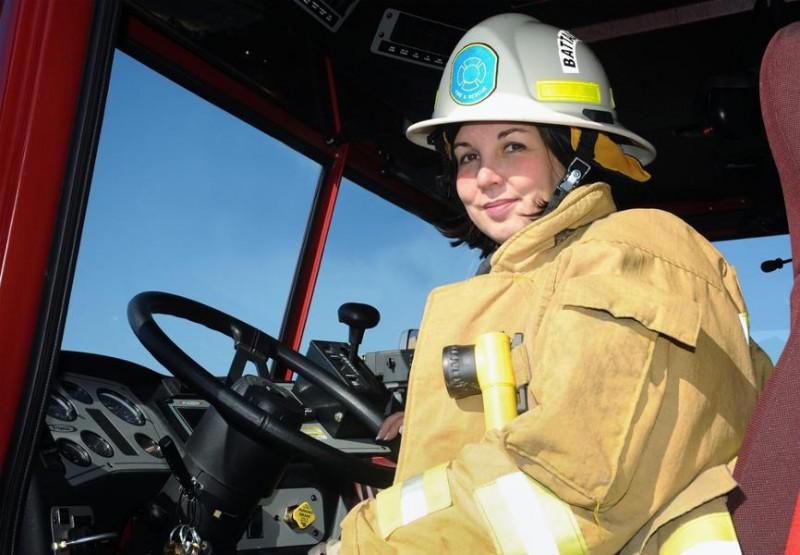 80% nhân viên cứu hỏa đang rất hài lòng với công việc giúp đỡ mọi người của họ.