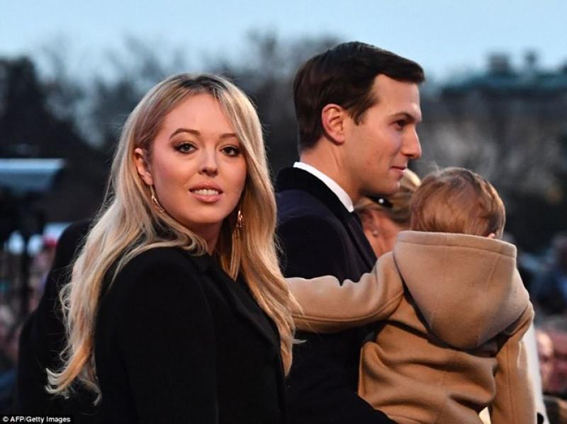 Con gái út của Tổng thống Tiffany Trump cũng có mặt. Ảnh: AFP/Getty.
