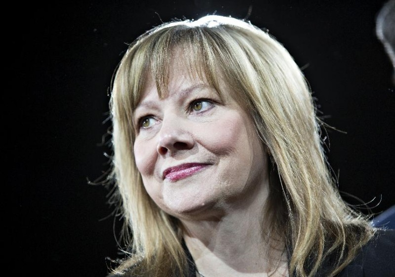 3.Mary Barra, Tập đoàn General Motors Mức lương: 28,6 triệu USD