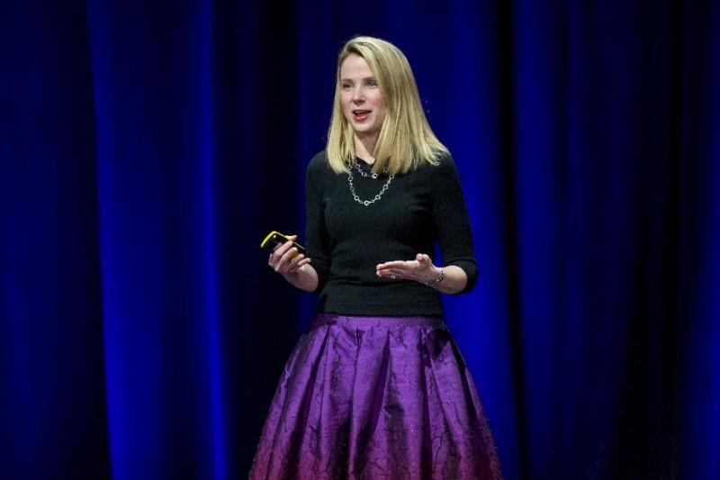 2.Marissa Mayer, Yahoo Mức lương (2014): 42,1 triệu USD
