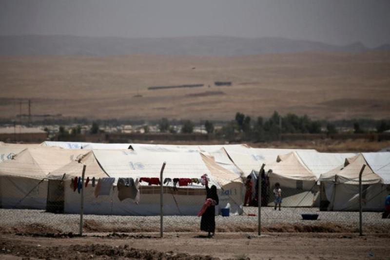 Theo UNHCR, trại tị nạn Hasansham U2 ở al-Khazer nằm trên tuyến đường nối Mosul và Erbil là nơi cư trú của khoảng 6.300 người.