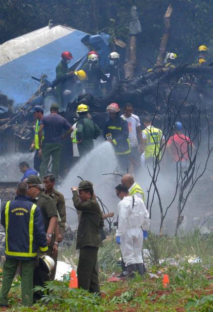 Theo hãng thông tấn Prensa Latina, máy bay Boeing 737 đã rơi