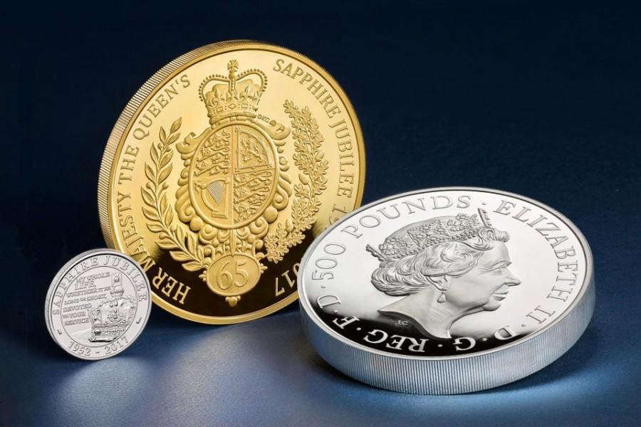 Nhân dịp trọng đại này, Xưởng đúc tiền Hoàng gia đã đúc đồng xu đặc biệt mệnh giá 5 £ để làm kỷ niệm.