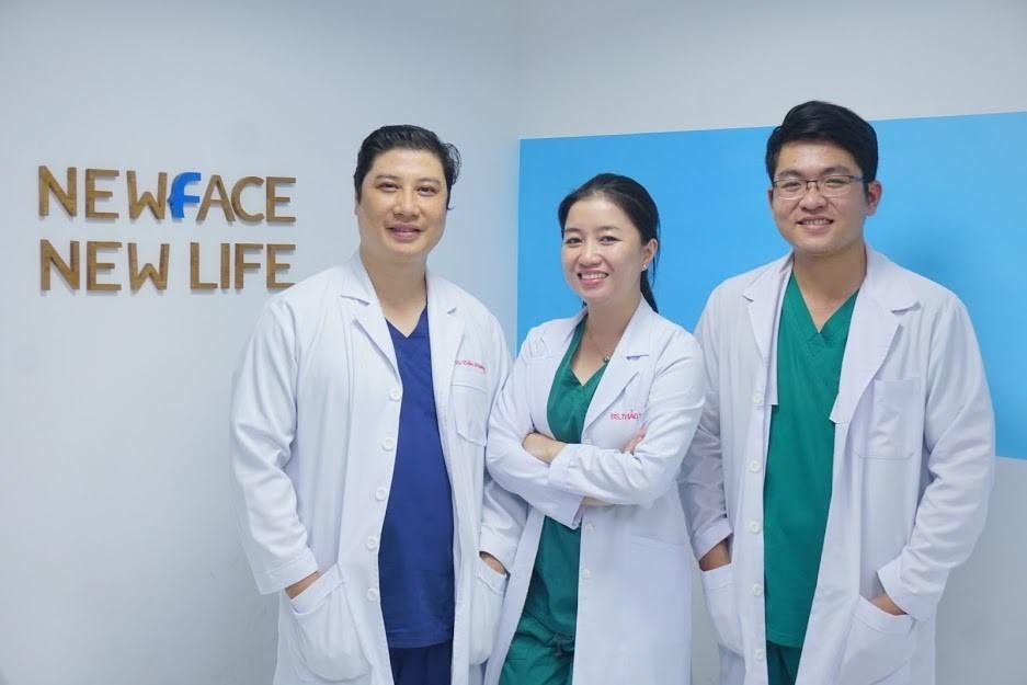 Các bác sĩ Thẩm Mỹ Viện Newface có chuyên môn cao và giàu kinh nghiệm