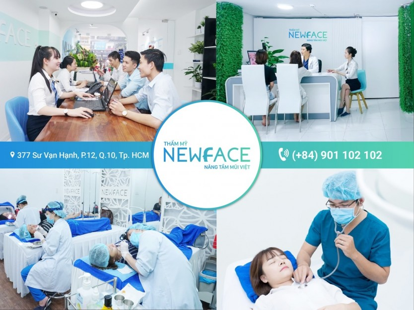 Newface được đầu tư cơ sở vật chất, trang thiết bị hiện đại