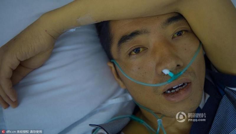 Zhang rất bình tĩnh khi phải đối mặt với