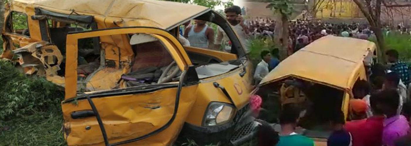 Cảnh sát địa phương xác nhận vụ tai nạn xảy ra ở một nút giao đường sắt không có nhân viên gác tàu thuộc địa phận huyện Kushinagar, cách thủ phủ Lucknow 323km về phía Đông.