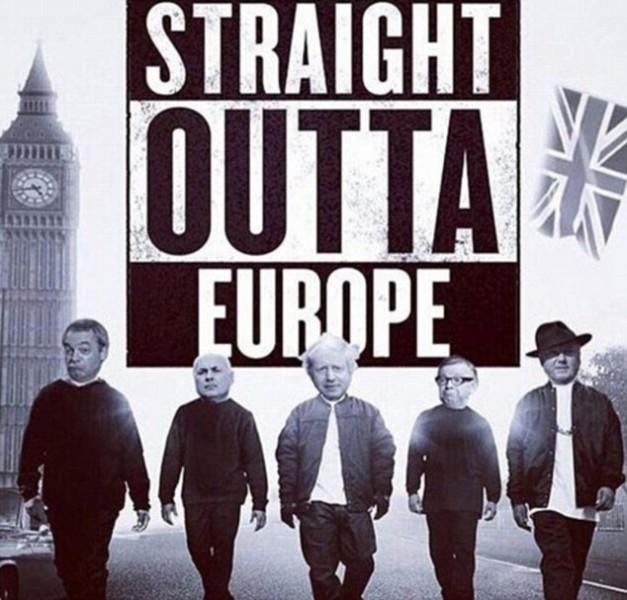 Những nhà lãnh đạo của Anh 'hùng dũng' bước ra khỏi EU.