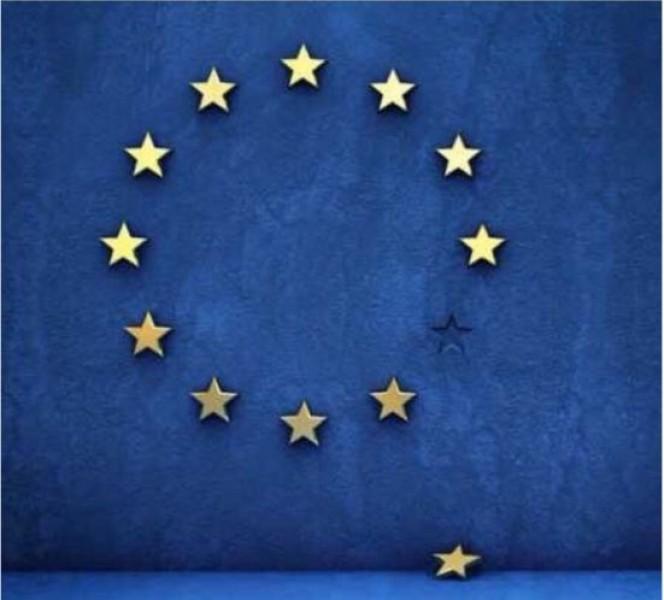 Vòng tròn sao của EU giờ đã bị thiếu mất một trong những ngôi sao sáng nhất.