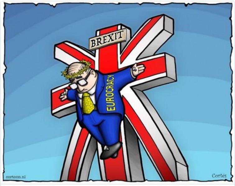 Sự ra đi của nước Anh sẽ dẫn đến những hiệu ứng tiêu cực khác trong khối khiến EU có thể đứng trước bờ vực tan rã.