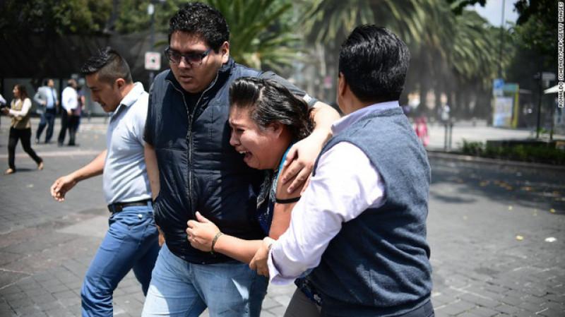 Trong một thông báo trên trang mạng Twitter, người đứng đầu Cơ quan phòng vệ dân sự Mexico Luis Felipe Puente , trong số những nạn nhân thiệt mạng có 117 người ở Mexico City, 55 người ở bang Morelos, 12 người ở bang Mexico và 3 người ở bang Guerrero ven biển Thái Bình Dương.