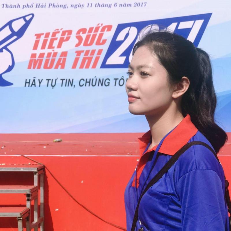 Vũ Hương Giang tham gia chương trình