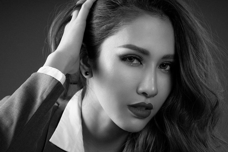 Cận cảnh gương mặt khả ái của nàng Hoa hậu gốc Kiên Giang