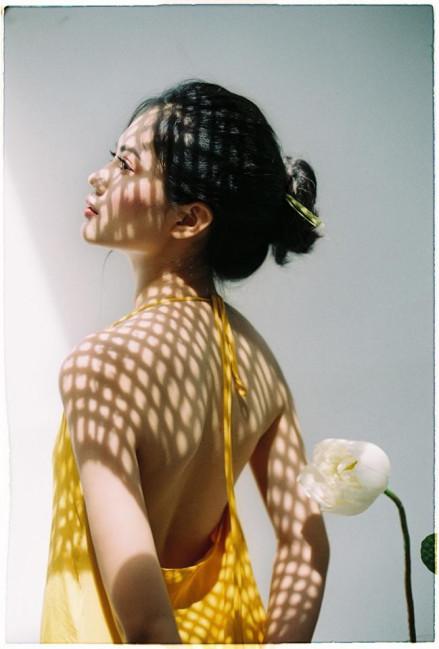 Vũ Hương Giang cho biết, bộ ảnh cô được thực hiện khá ngẫu hứng, từ ý tưởng đến thực hiện chỉ 3 ngày. Nguyên cớ khiến cô chụp bộ ảnh là bởi… chợt nhớ ra chưa bao giờ chụp bộ ảnh nào với sen, mà bản thân cô lại không thích ra hồ sen chụp giống như nhiều người khác.