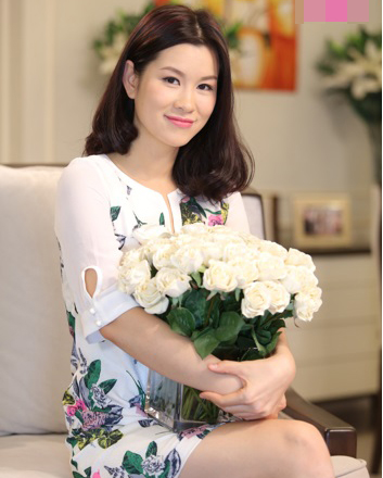 Diễn viên Huyền Trang cũng là gương mặt quen thuộc trong nhiều bộ phim truyền hình