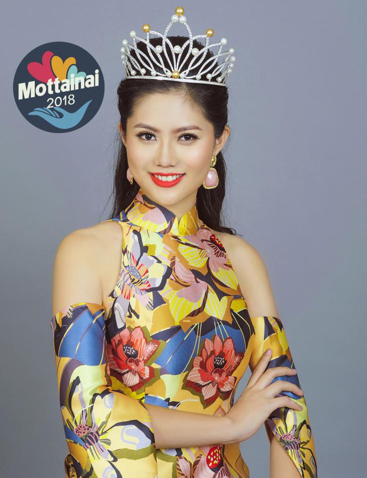 Đảm nhận vị trí vedette của phần trình diễn thời trang Giao lưu văn hóa Việt - Nhật là Hoa khôi Miss Photo 2017 Vũ Hương Giang. Cô cũng là 1 trong số 4 Đại sứ của Chương trình Mottainai 2018