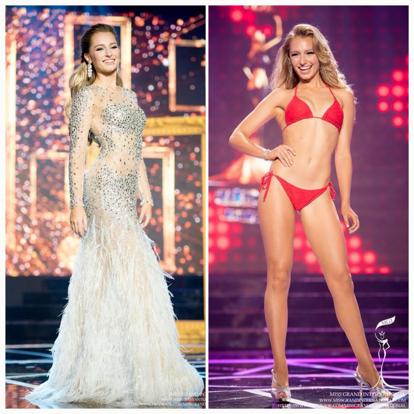 Claire Elizabeth Parker sinh ngày 30/6/1991, sở hữu chiều cao 1,73m, vốn là một người mẫu, diễn viên người Úc. Tại cuộc thi Hoa hậu Hòa bình Quốc tế - Miss Grand International 2015 diễn ra ở Thái Lan, cô đoạt ngôi vị Á hậu 1