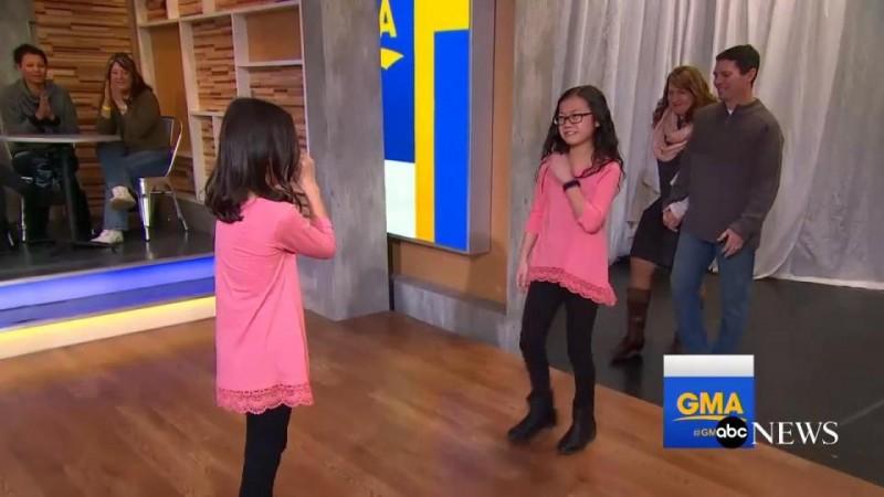 Ngay khi cánh cửa của chương trình mở ra, Audrey và Gracie đã ôm chầm lấy nhau và khóc nức nở vì quá hạnh phúc, khiến nhiều khán giả không cầm được nước mắt.