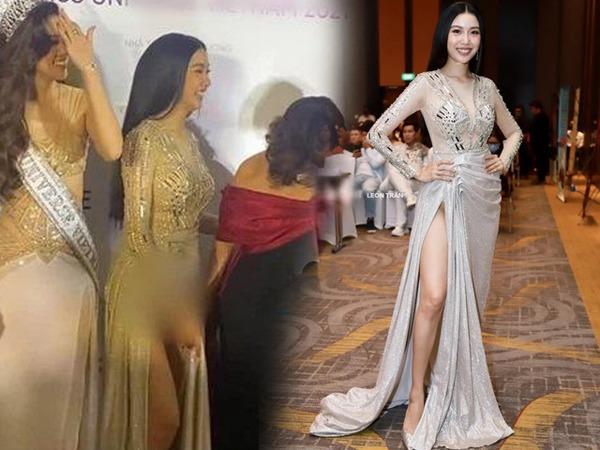 Sau sinh, Á hậu Thúy Vân kết kiểu váy xẻ tà, có bộ hiểm hóc đến suýt lộ hàng » Báo Phụ Nữ Việt Nam