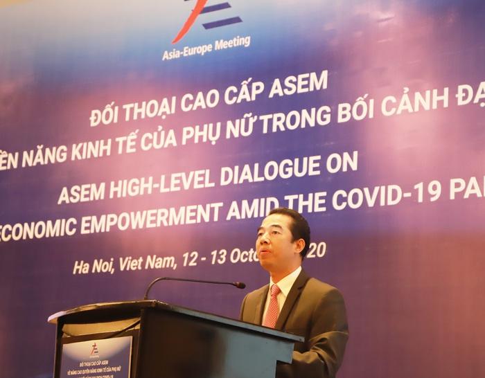 Thúc đẩy quyền năng kinh tế của phụ nữ ASEM trong bối cảnh đại dịch COVID-19 - Ảnh 2.