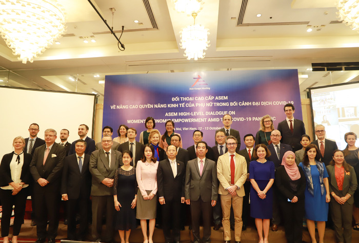 Thúc đẩy quyền năng kinh tế của phụ nữ ASEM trong bối cảnh đại dịch COVID-19 - Ảnh 1.