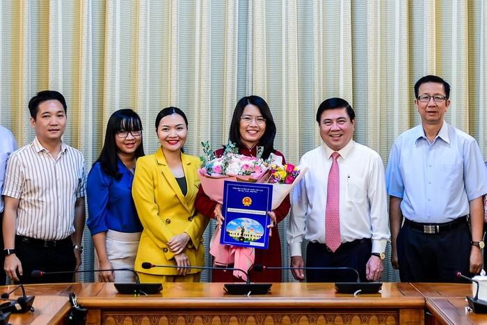 Bà Nguyễn Thị Ánh Hoa làm Giám đốc Sở Du lịch TPHCM - Ảnh 1.