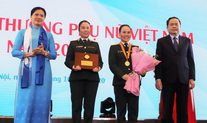 Trao Giải thưởng Phụ nữ Việt Nam năm 2020 cho 7 tập thể và 10 cá nhân  - Ảnh 1.