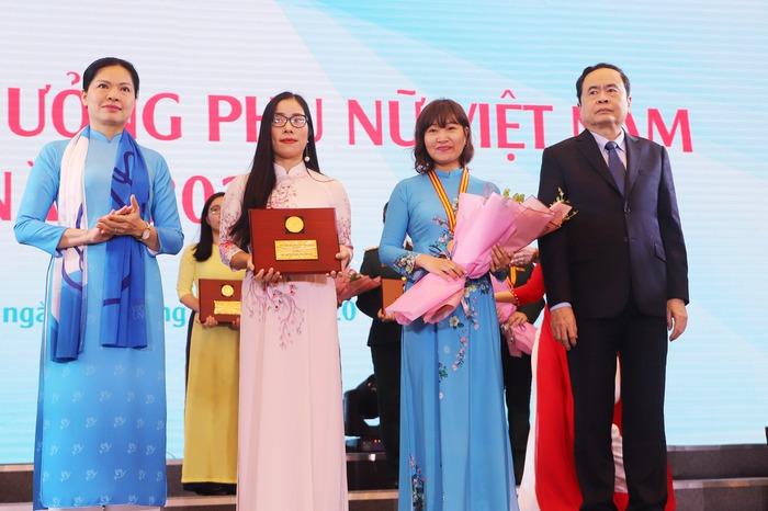 Trao Giải thưởng Phụ nữ Việt Nam năm 2020 cho 7 tập thể và 10 cá nhân  - Ảnh 2.