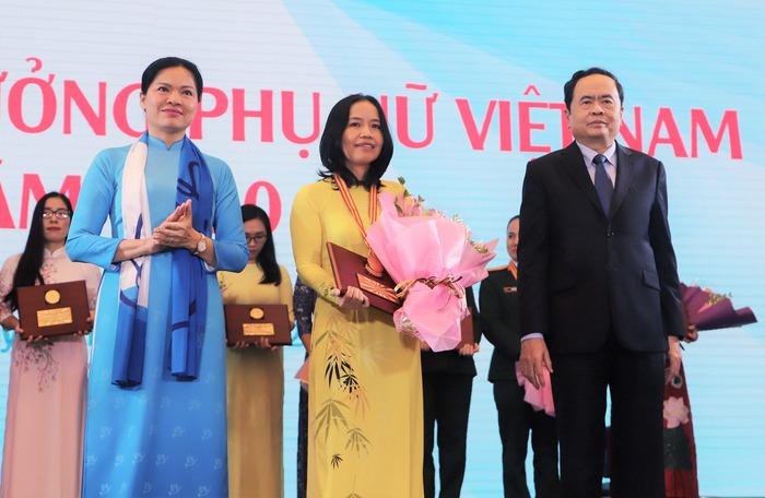 Trao Giải thưởng Phụ nữ Việt Nam năm 2020 cho 7 tập thể và 10 cá nhân  - Ảnh 5.