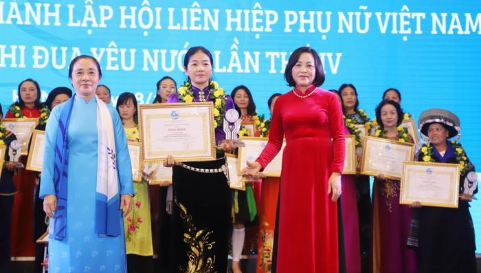 Kỷ niệm 90 năm thành lập, Hội LHPN Việt Nam đón nhận Huân chương Lao động hạng Nhất - Ảnh 4.