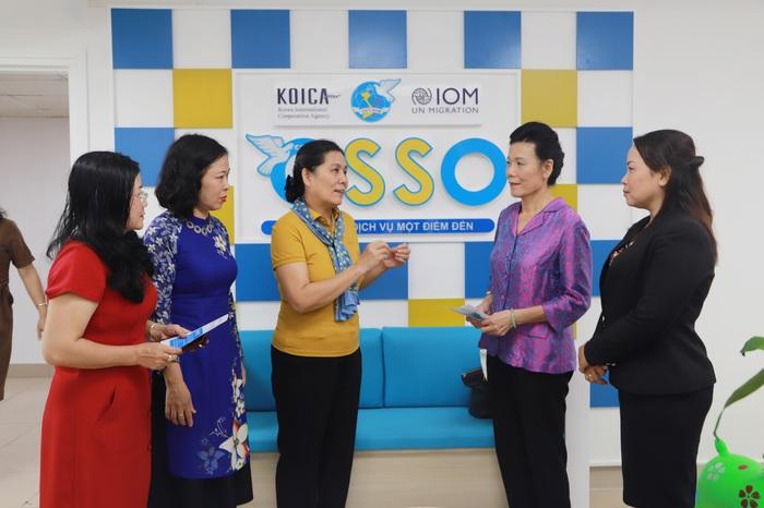 Văn phòng OSSO: Địa chỉ tin cậy của phụ nữ di cư hồi hương và gia đình họ - Ảnh 3.