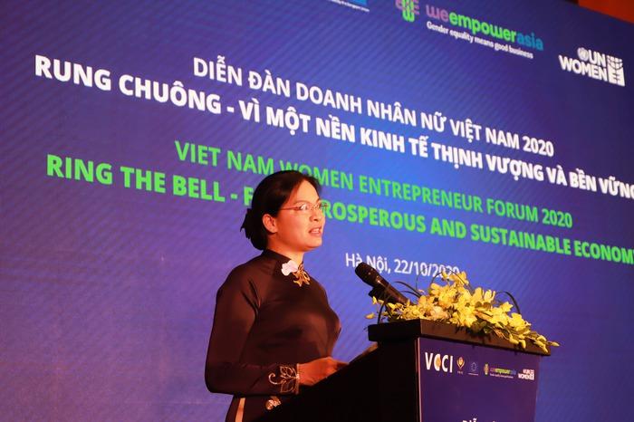 Doanh nhân nữ góp phần xây dựng nền kinh tế thịnh vượng và bền vững  - Ảnh 2.