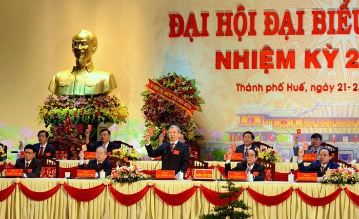 Tỉ lệ nữ trong Ban chấp hành Đảng bộ tỉnh Thừa Thiên –Huế đạt 14% - Ảnh 1.