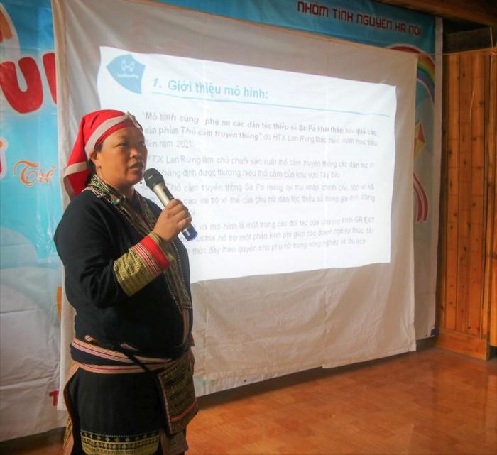 Nữ giám đốc biến cây thuốc bản địa truyền thống thành cơ hội kinh doanh - Ảnh 1.
