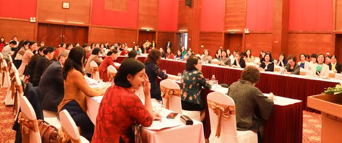 Nữ doanh nhân đóng góp ý kiến về Kinh tế thị trường, hội nhập quốc tế và tham gia các Hiệp định thương mại - Ảnh 2.