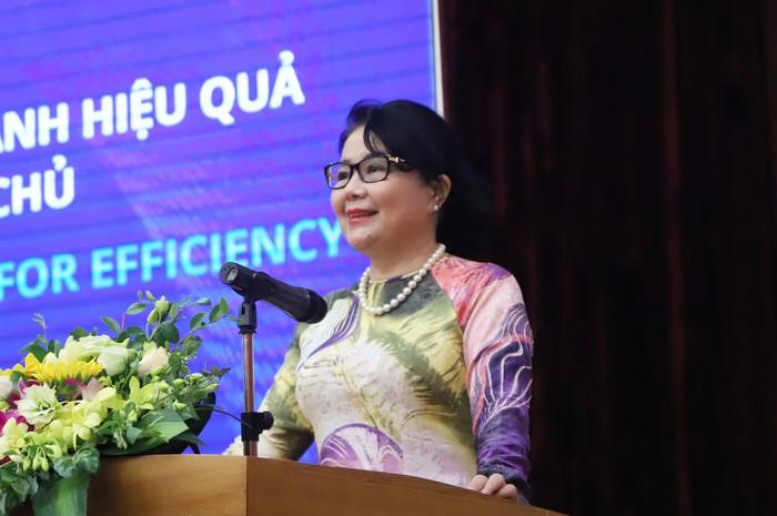 Nữ doanh nhân góp ý kiến về Kinh tế thị trường vào dự thảo văn kiện Đại hội XIII - Ảnh 4.