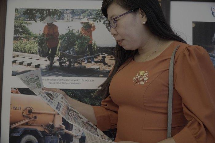 Hội Nhà báo Việt Nam khai mạc trưng bày hàng nghìn ấn phẩm báo chí tiêu biểu và triển lãm ảnh - Ảnh 15.