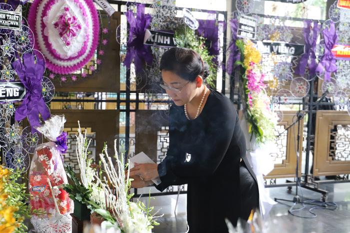 Nguyên Phó chủ tịch Hội Liên hiệp phụ nữ VN bà Hà Giang qua đời  - Ảnh 1.