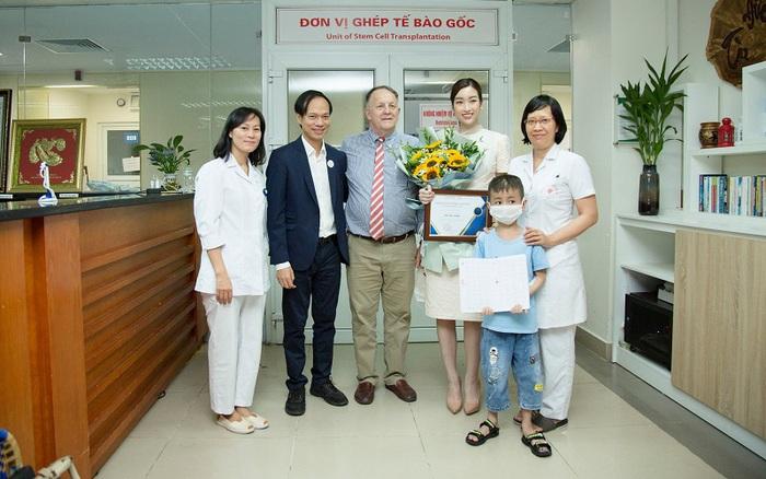 Hoa hậu Đỗ Mỹ Linh trở thành đại sứ Ông Mặt Trời, đồng hành cùng bệnh nhi ung thư tại Việt Nam