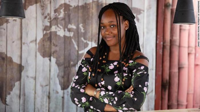 Người phụ nữ đầu tiên giành Giải thưởng châu Phi về đổi mới kỹ thuật - Ảnh 1.
