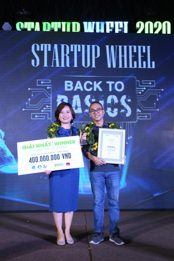 Một nữ Founder dự án ứng dụng đọc sách dành cho trẻ em giành giải nhất cuộc thi Startup Wheel 2020 - Ảnh 1.