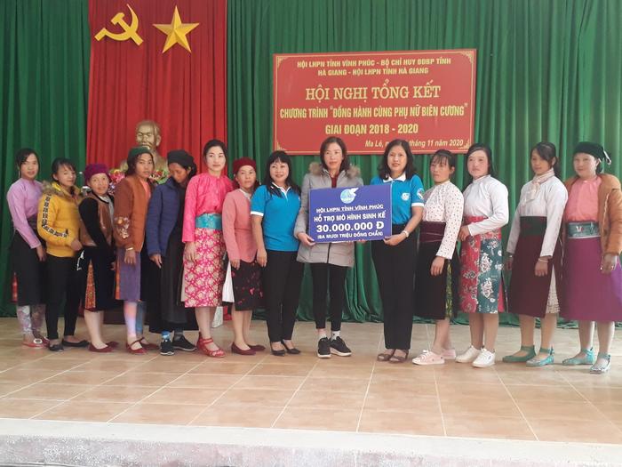 Hỗ trợ sinh kế, đồng hành cùng phụ nữ biên cương Hà Giang - Ảnh 2.